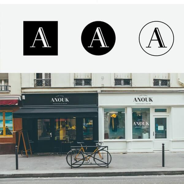 Store Branding - Anouk