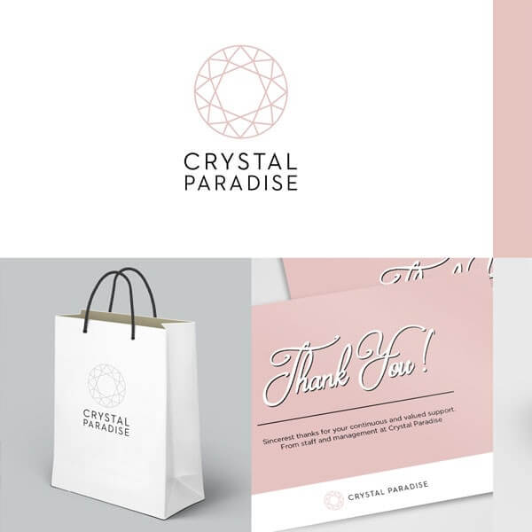 Corporate Identity - Crystal Paradise