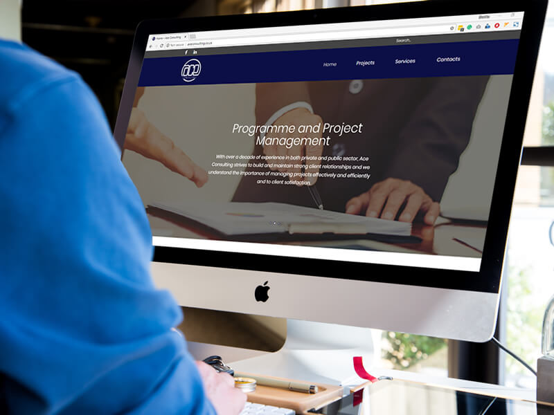 Business Website for Ace Consulting