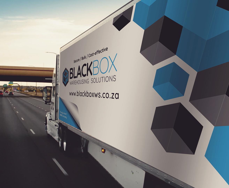 Black Box Truck Branding